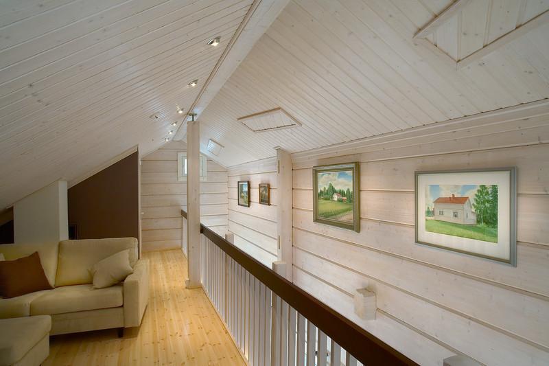 Покраска деревянного дома внутри фото